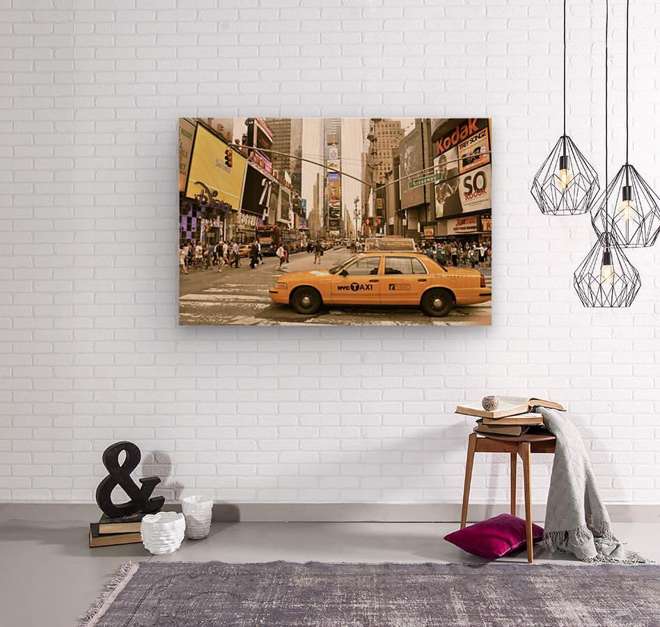Newyork newyork  Wood print