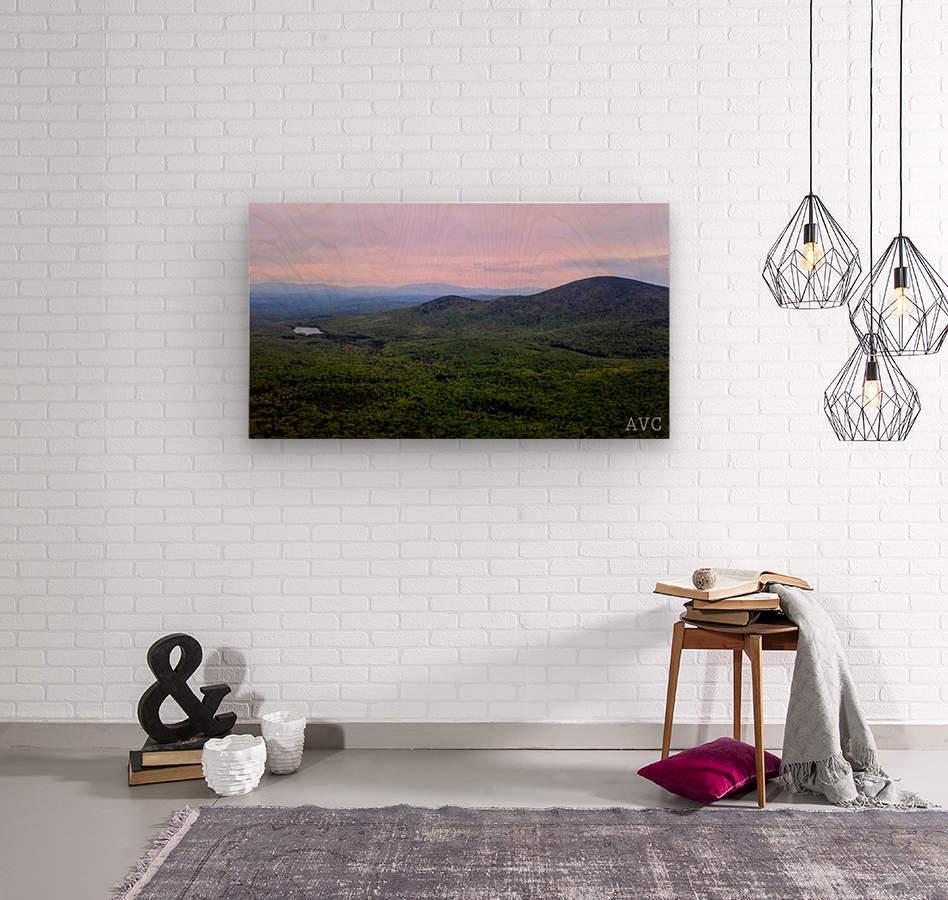Spruce Mountain  Wood print