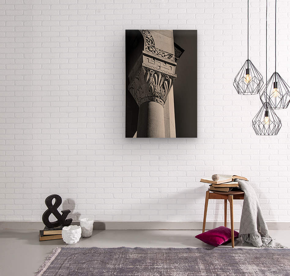 A Column for Lily  Wood print