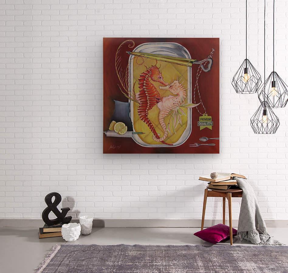 Appetizer   Wood print