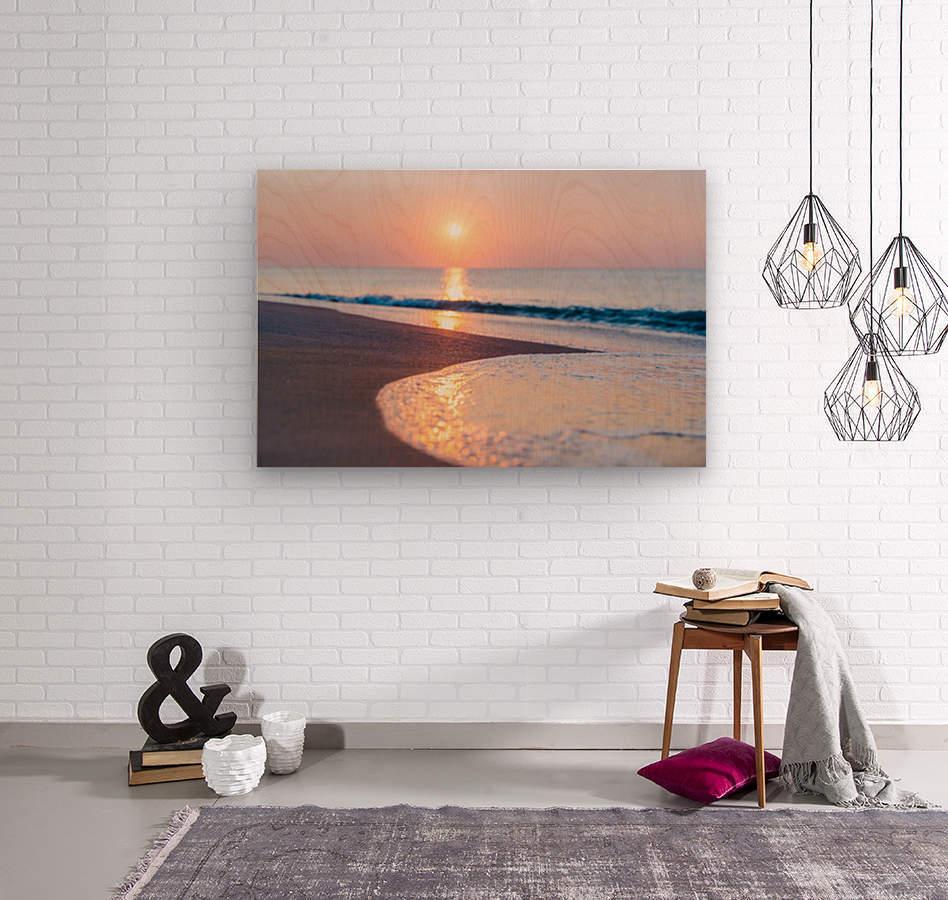 Seashore Bliss  Wood print