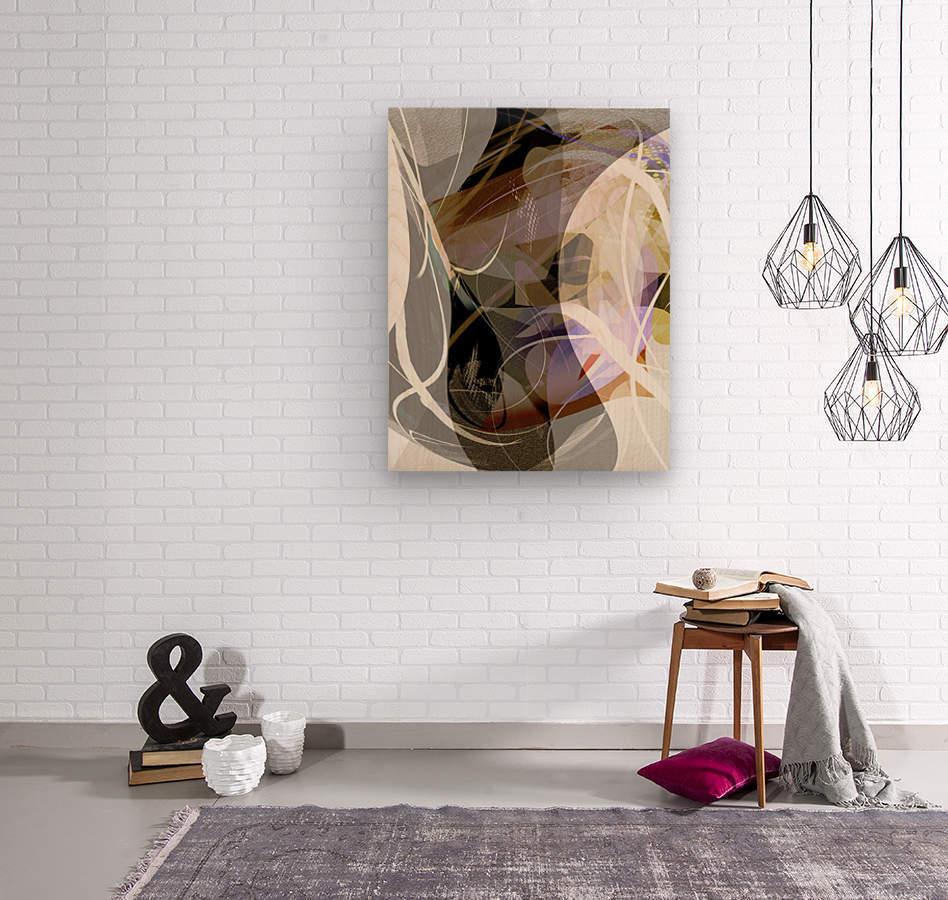 A M U  Wood print