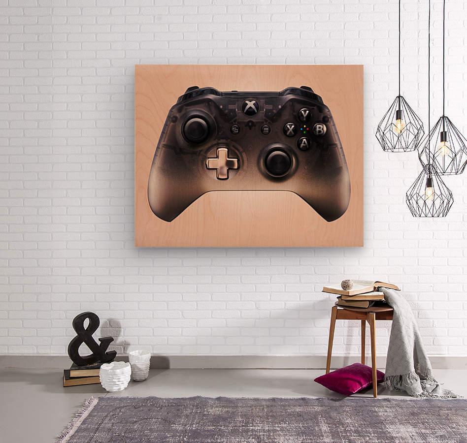 Gaming Controller v3  Wood print