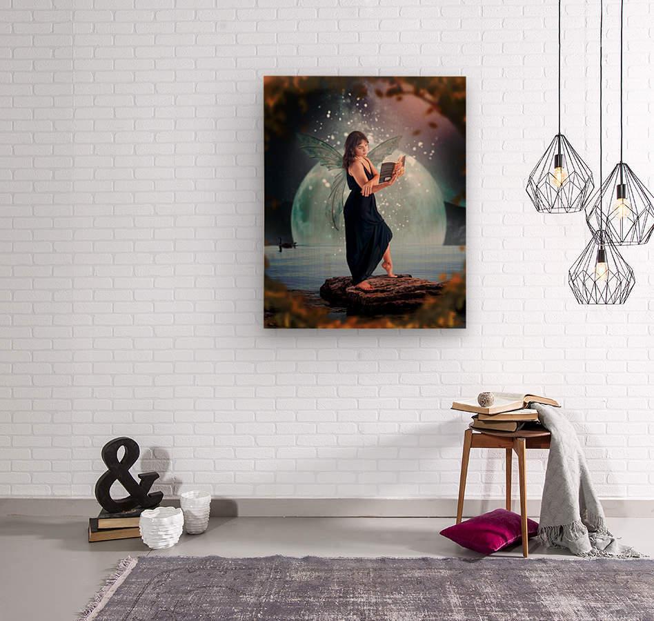 Fairy portrait  Wood print