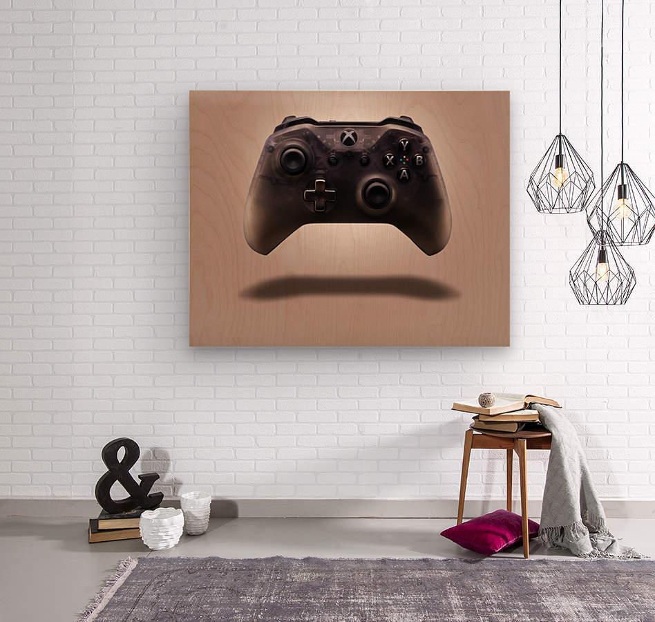 Gaming Controller v1  Wood print