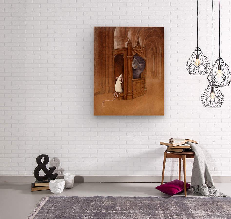 pure soul  Wood print