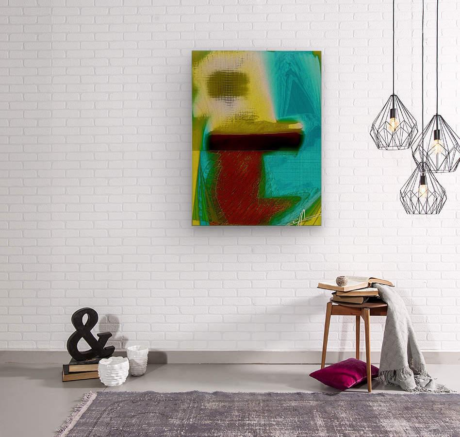 Sol Lux Xertz  Wood print
