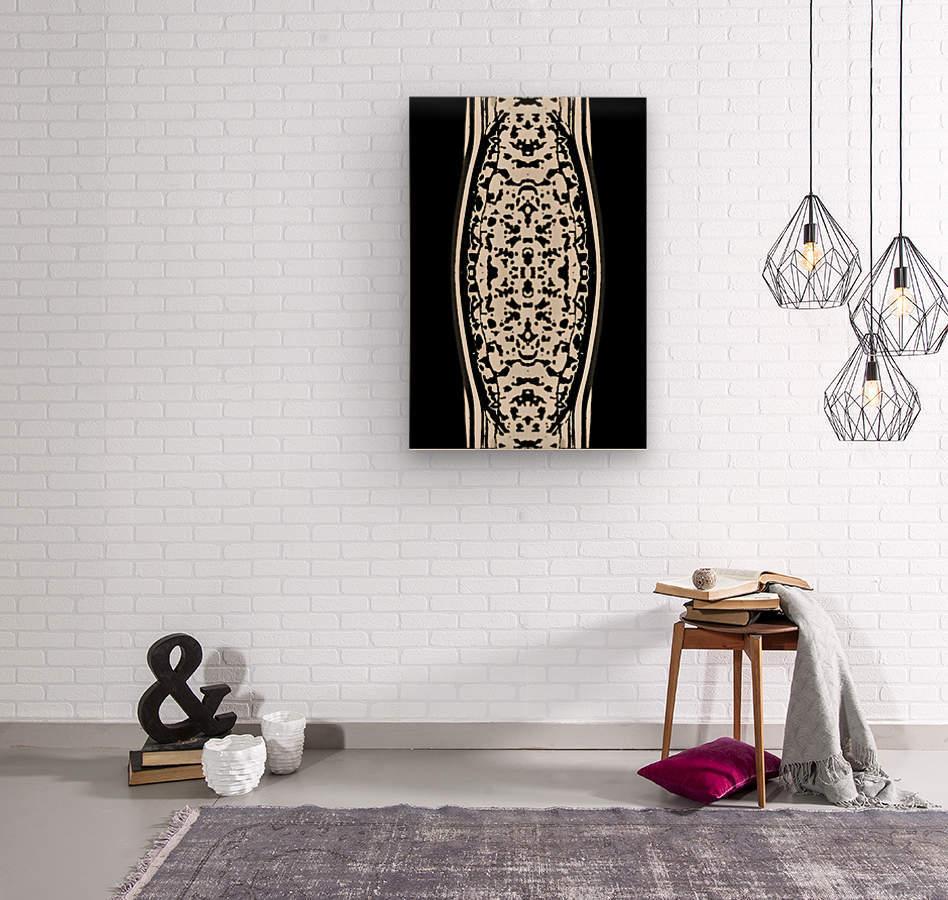 ShivaSakti II  Wood print
