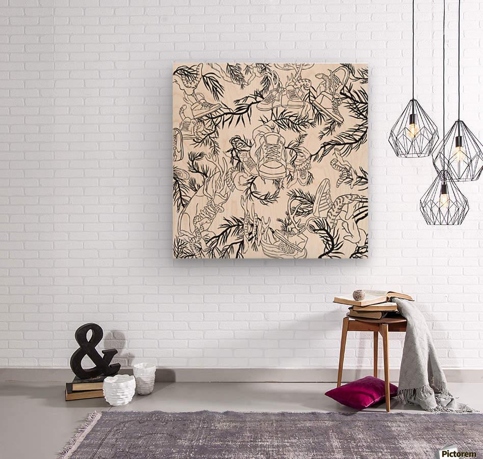 pieceofmyart5  Wood print