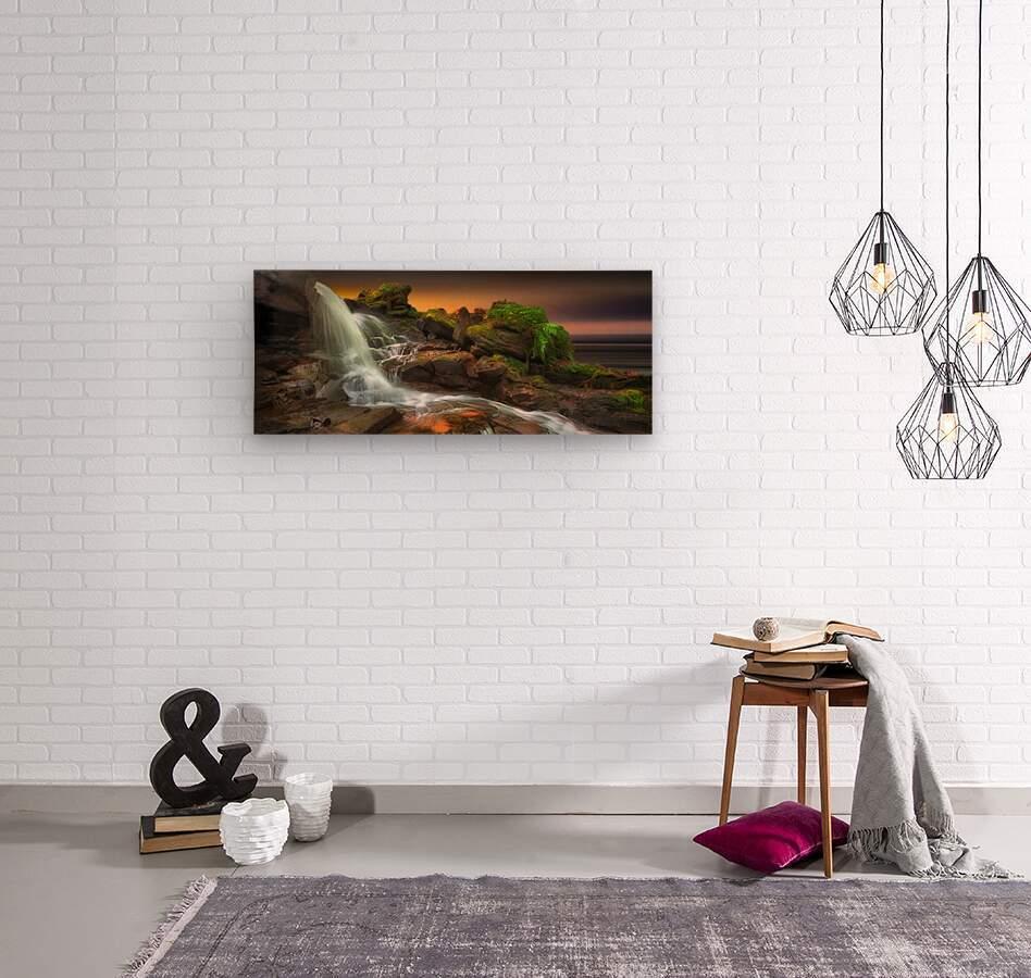 Melincourt Brook  Wood print
