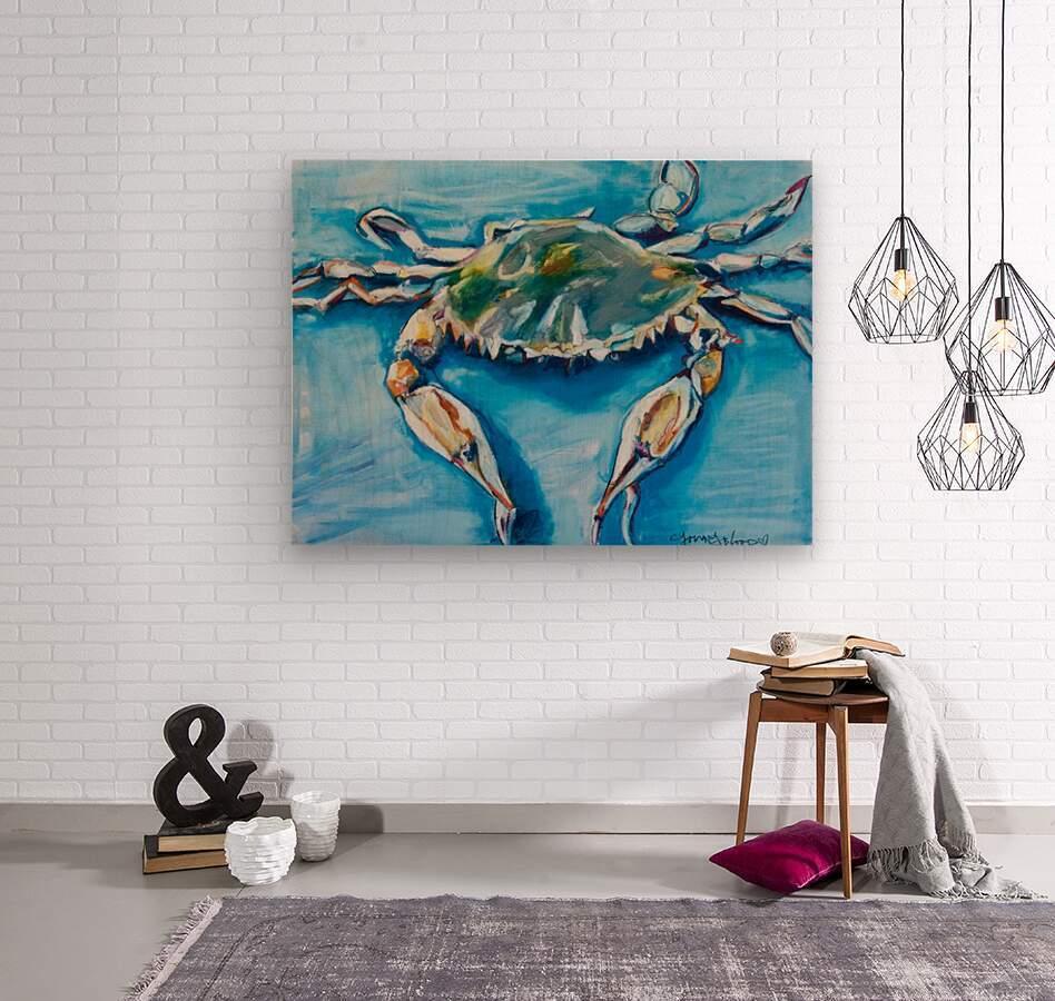 Louisiana He Soft Shell Crab  Wood print