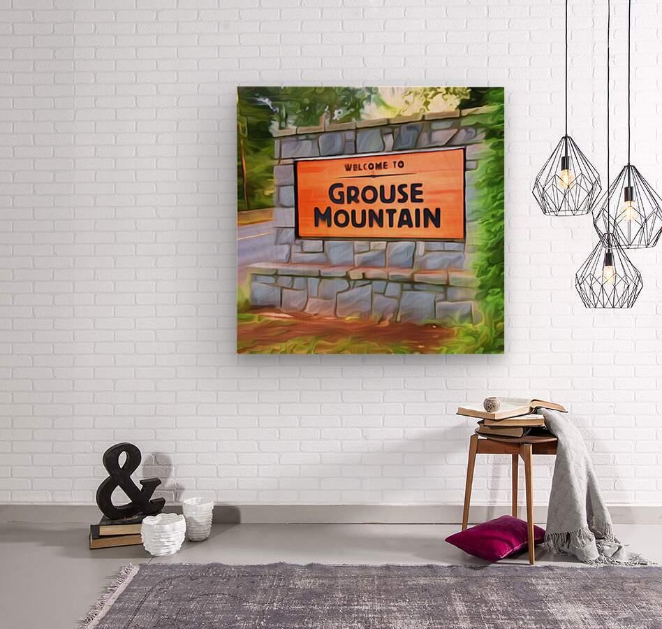 VNA5 - Vancouver North Shore  Wood print