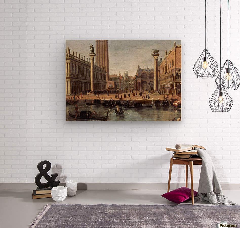 The Piazzetta from the Bacino di San Marco  Wood print