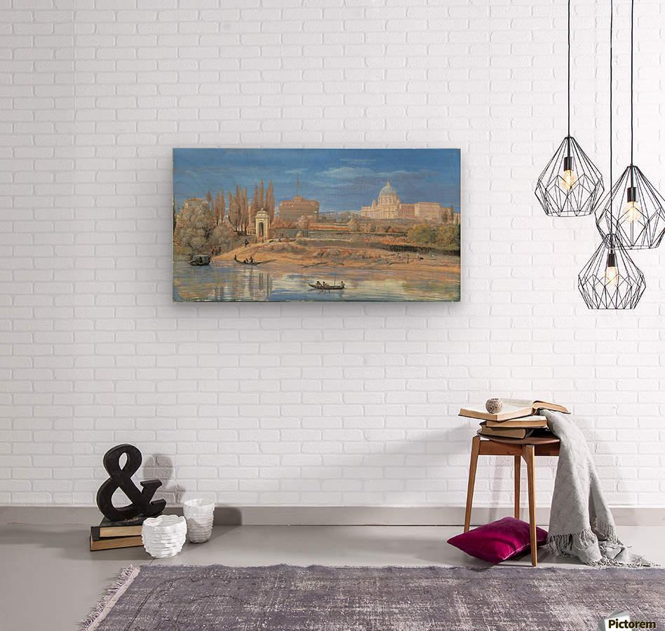 Castle of Sant Angelo  Wood print