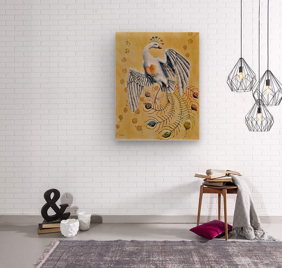 Rosellia d or    Wood print