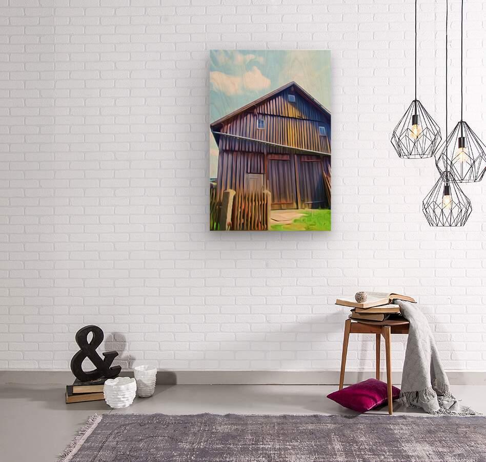 FMB2 - FARM LIFE  Wood print