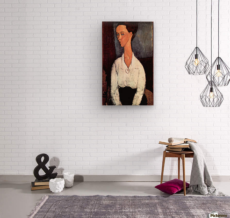 Modigliani - Portrait  Wood print
