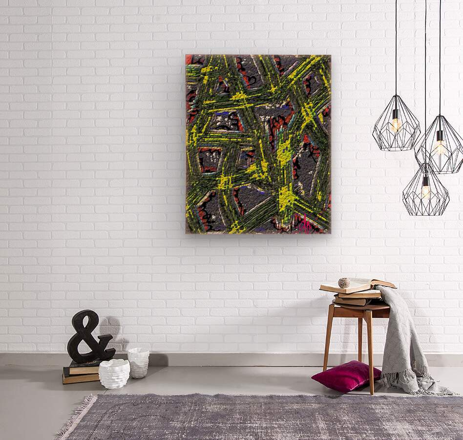 Of Like or Pertaining To  Wood print