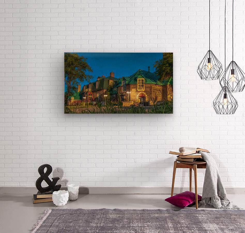 Maison William Wakeham  Impression sur bois