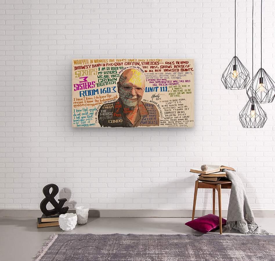Jim Boring  Wood print