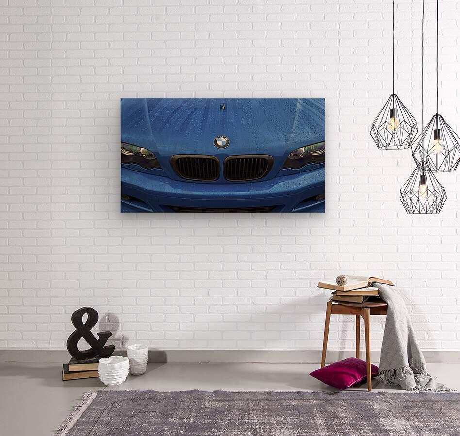 BMW BLU REIGN  Wood print