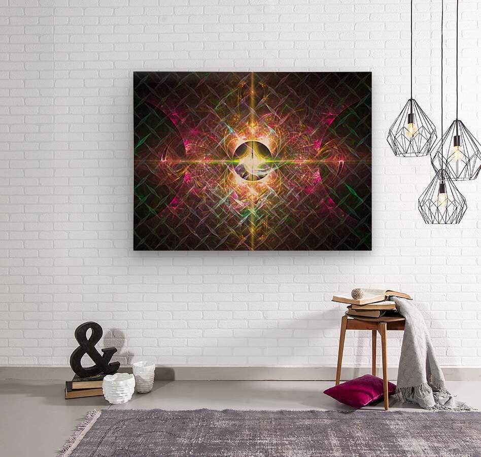 Pulse  Wood print