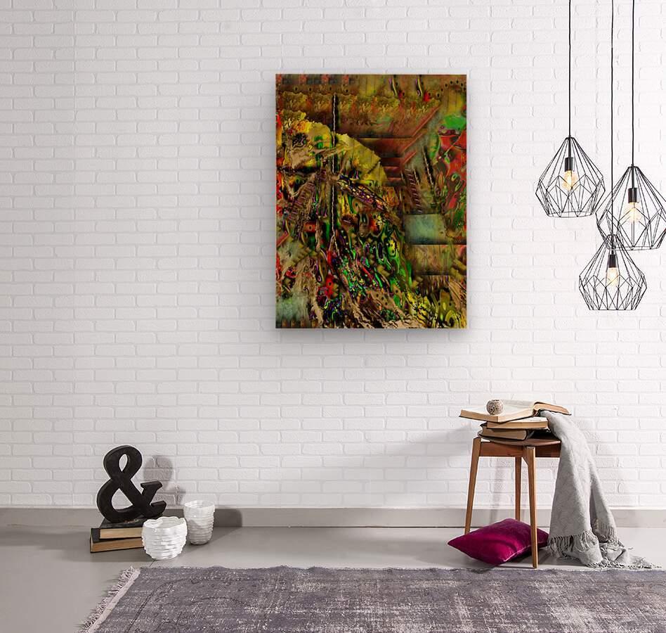 Stash  Wood print