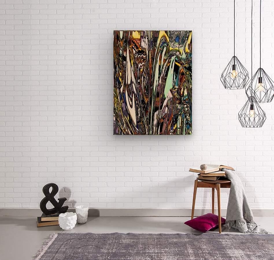 Tinman  Wood print