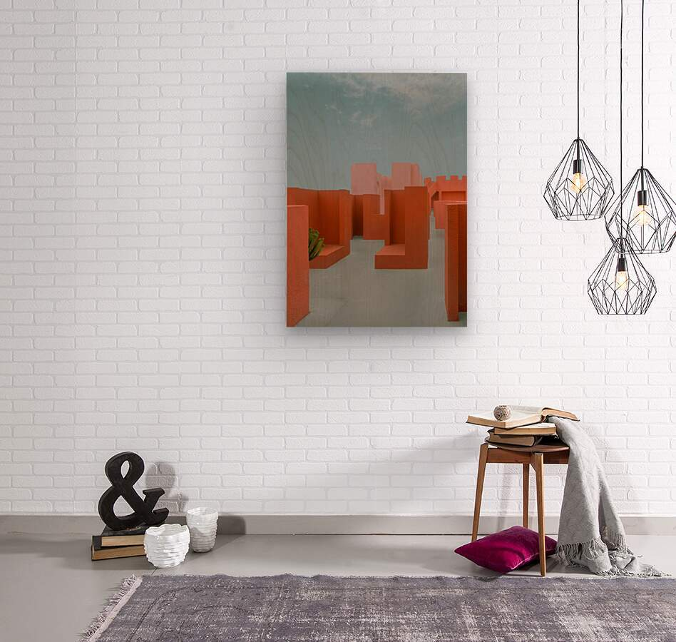 Monument Valley  Wood print