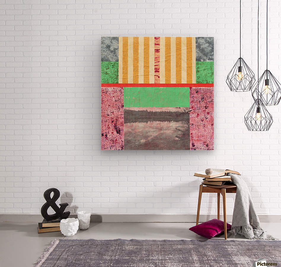 Reflective Mood  Wood print