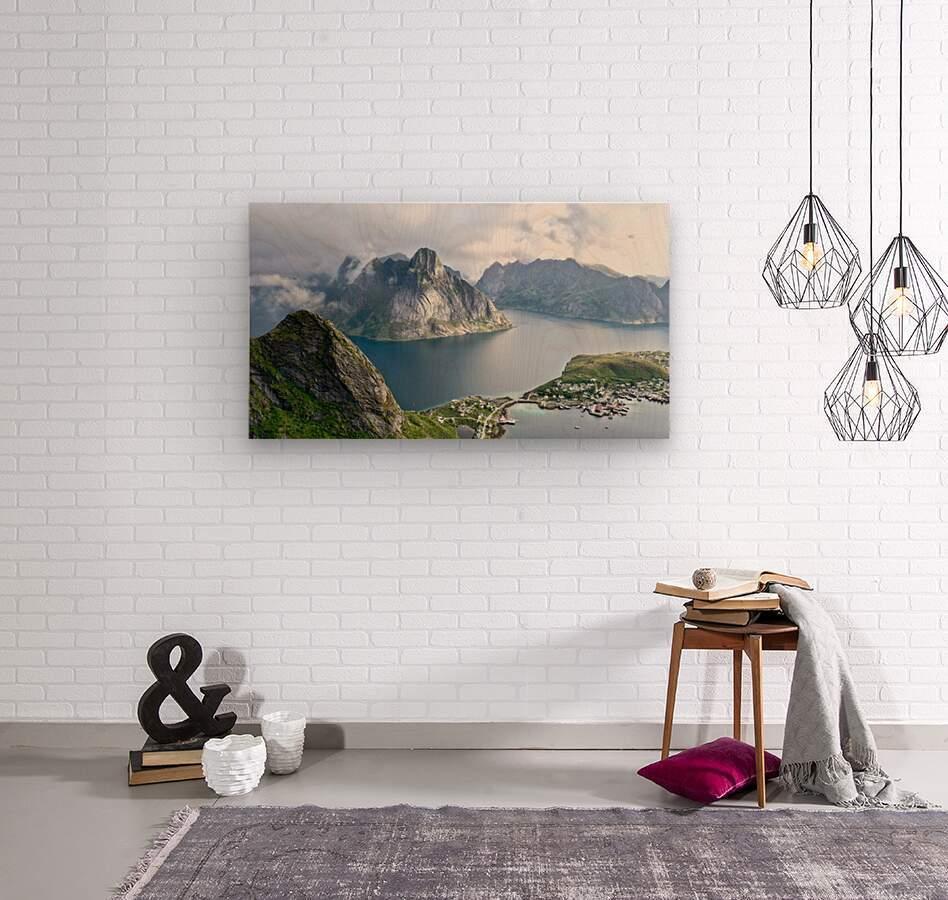 Lofoten 3  Wood print
