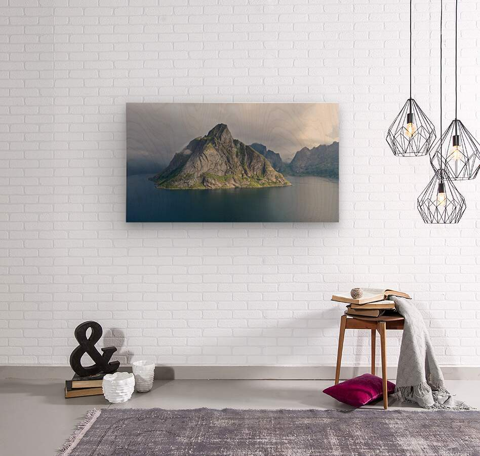 Lofoten 1  Wood print
