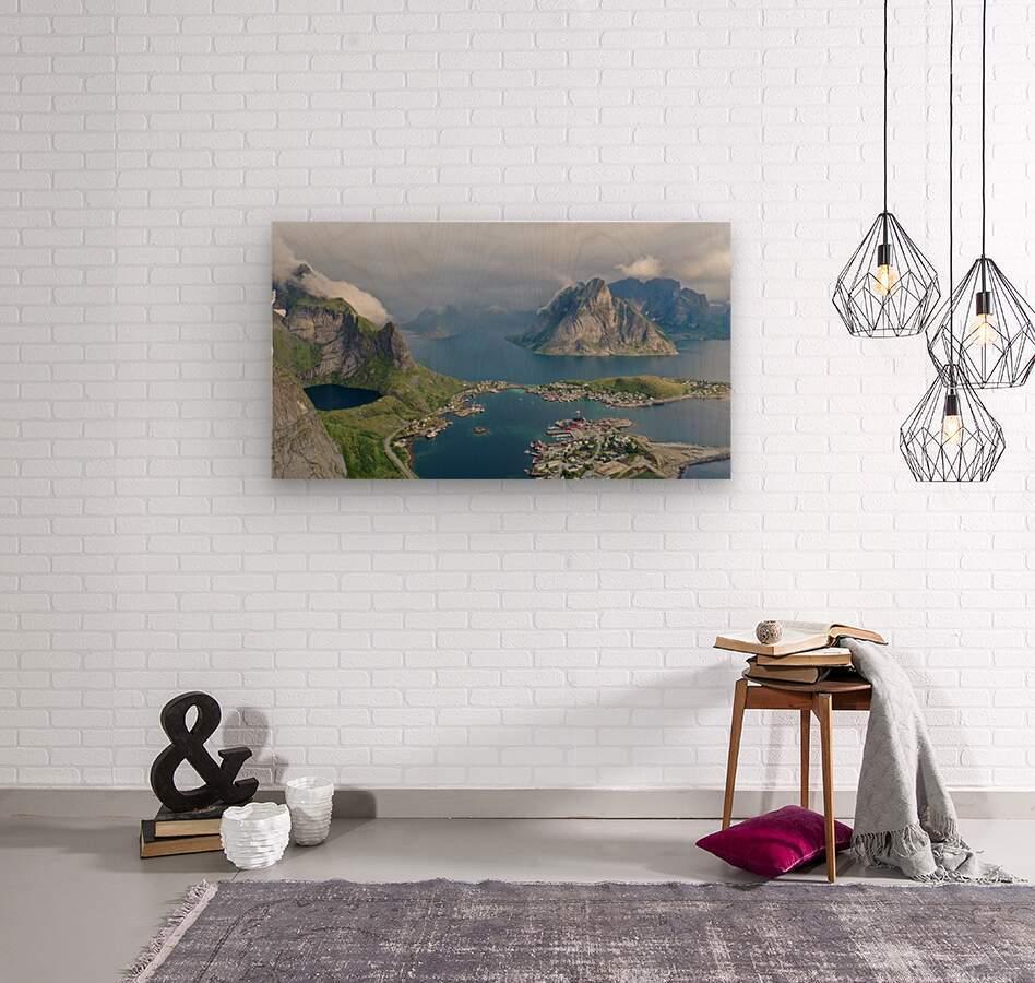 Lofoten 2  Wood print