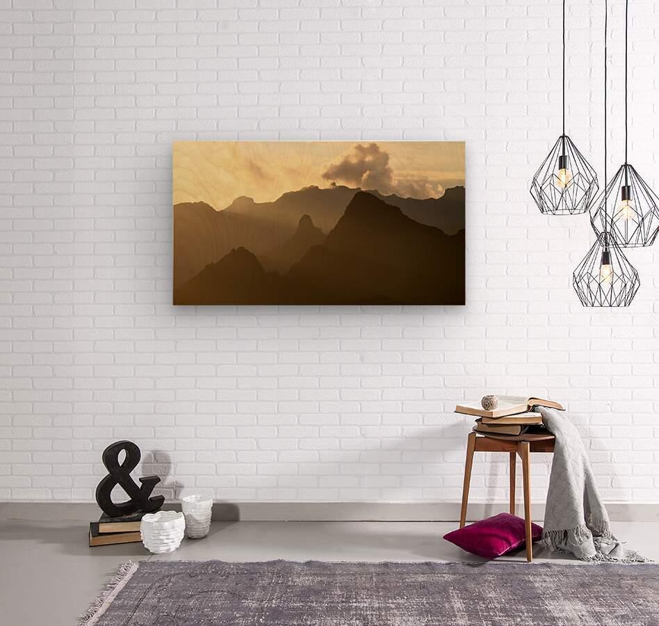 Kilimanjaro at Dusk  Wood print