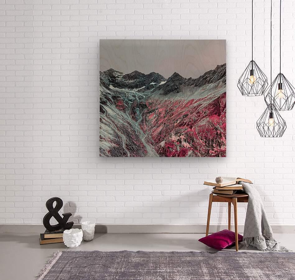 Color change  Wood print