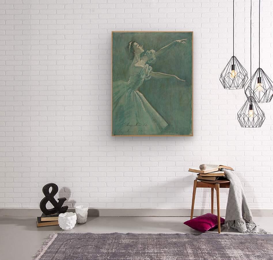 0052  Wood print