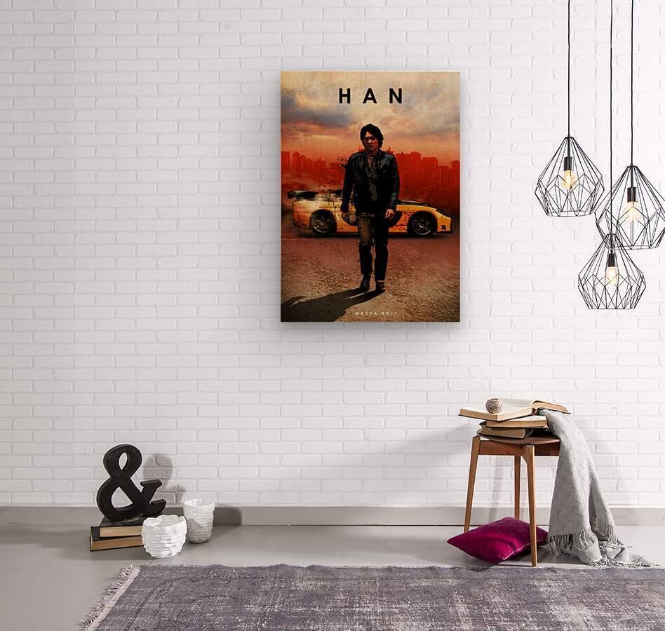Han Lue  Wood print