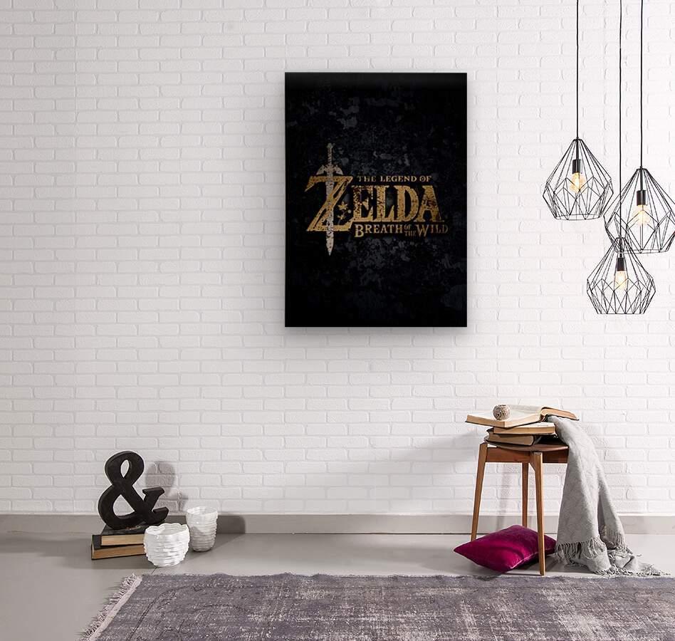 The Legend Of ZELDA  Wood print