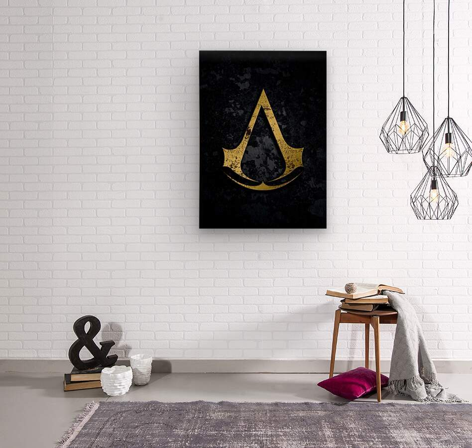 Assassin Creed  Wood print