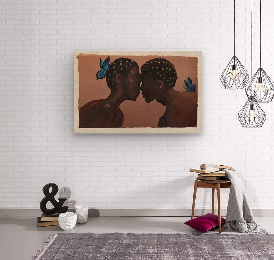 Greatest Gift  Wood print