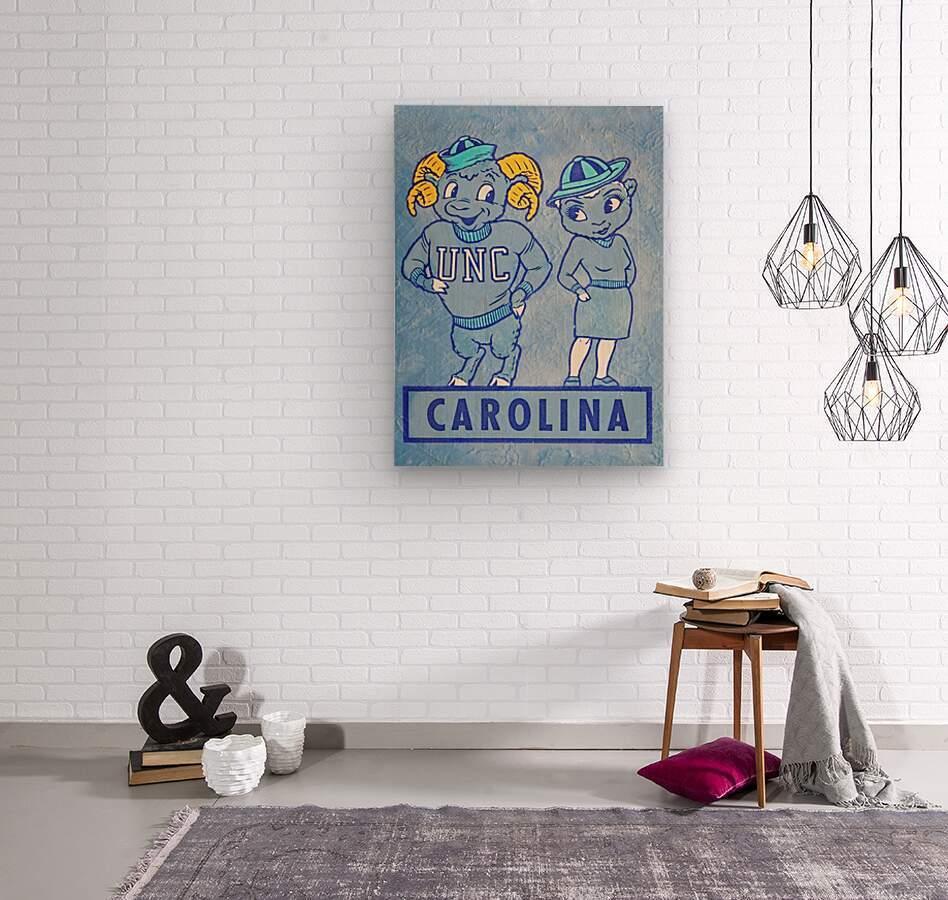 1950s Carolina Couple  Wood print