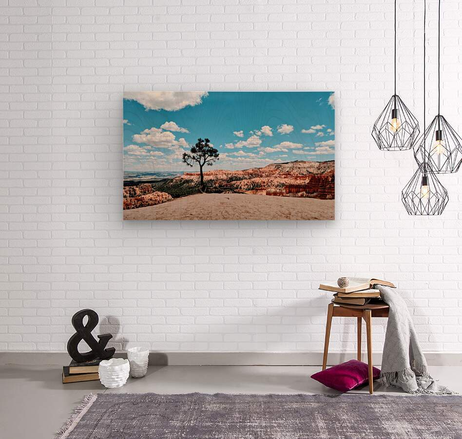 Bryce Canyon V  Wood print