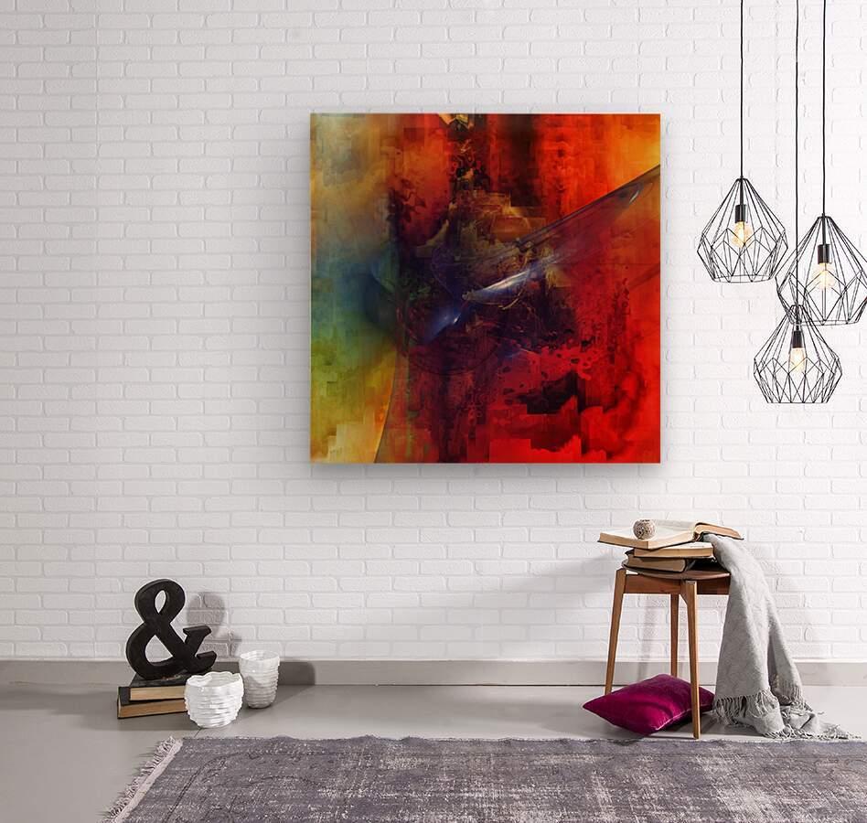 Cazimir dream   Wood print