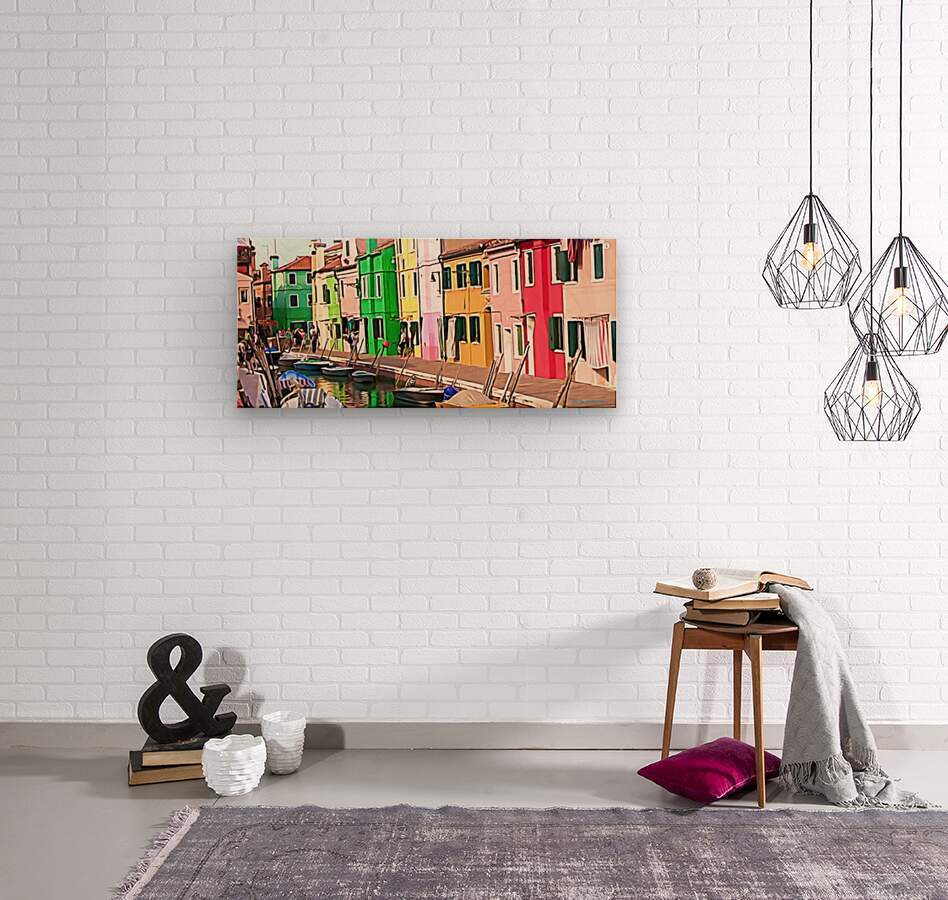Venisp2  Wood print