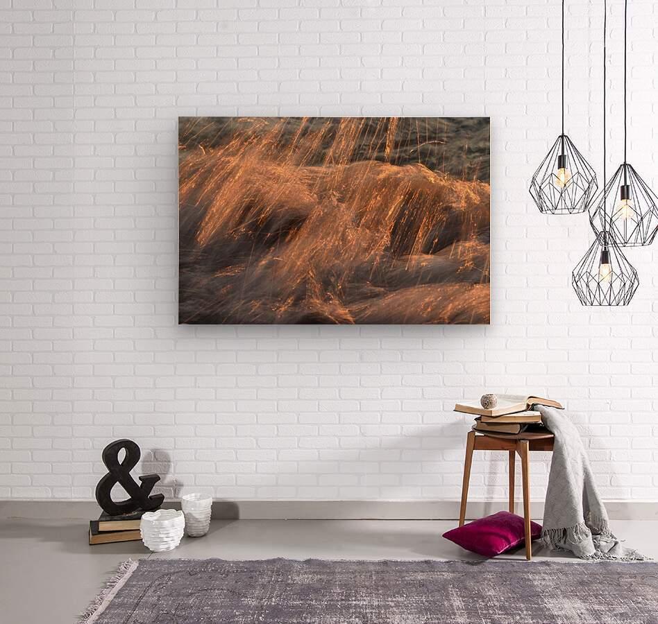 Lake Erie waves 7  Wood print