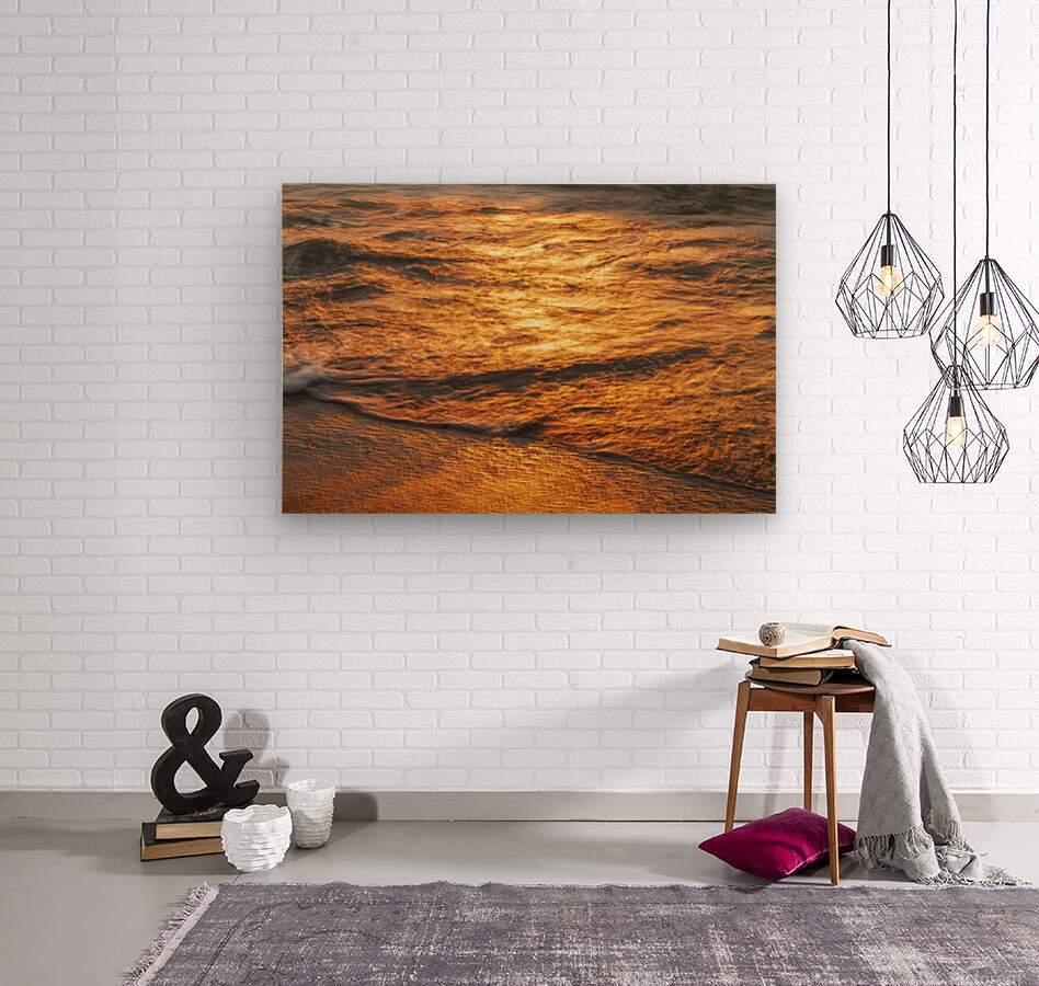 Lake Erie waves 5  Wood print