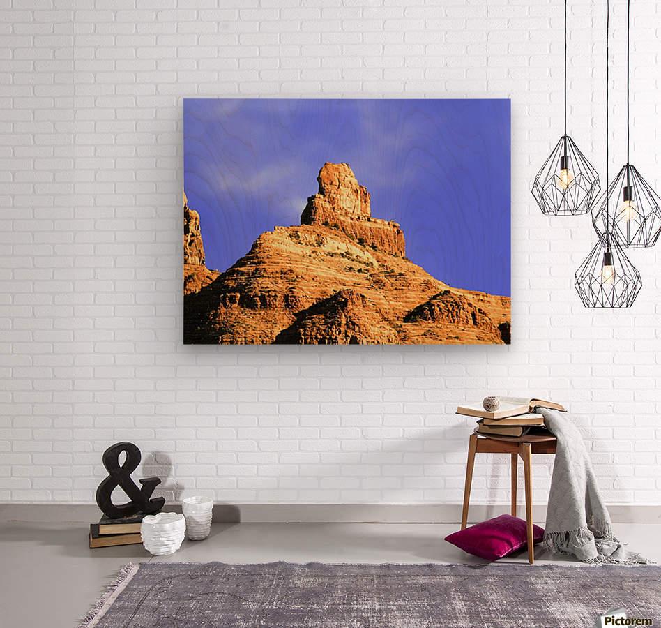 Sedona Red Rocks  Wood print
