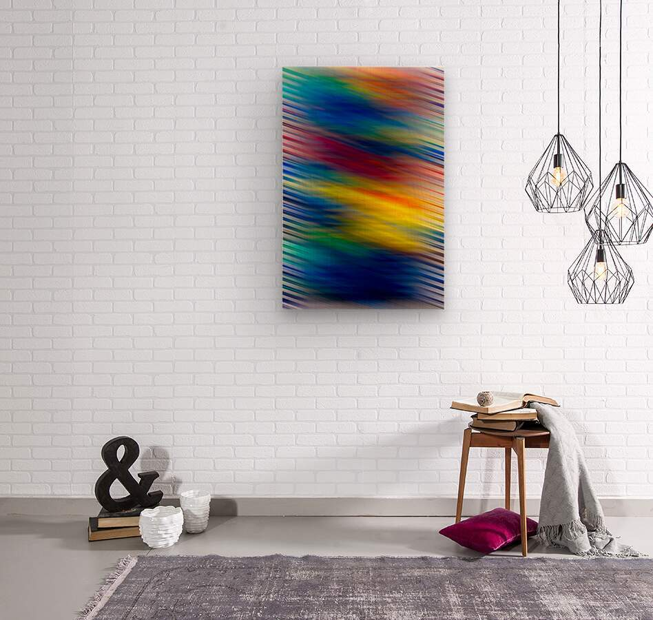 STREEKO COLORS  Wood print