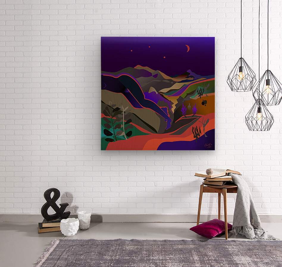 Dreaming at Lookout Mountain  Wood print
