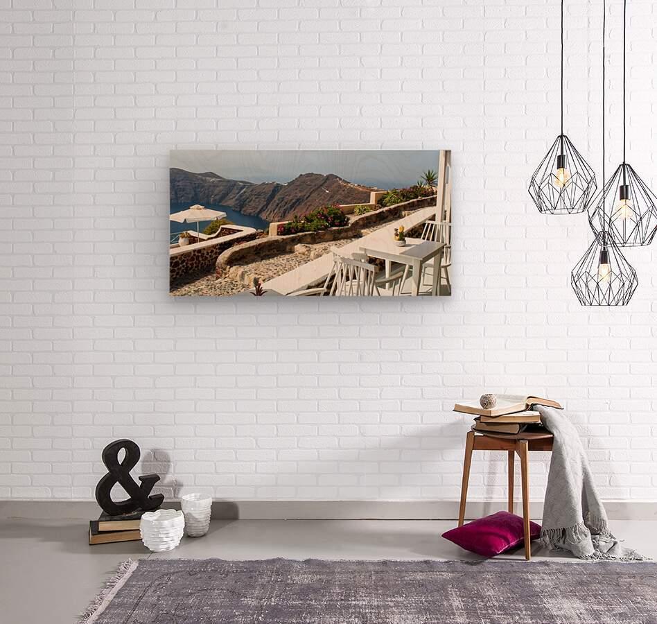 Romantic View  Wood print